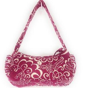 Vera Bradley Twirly Bird Pink Pattern Shoulder Bag